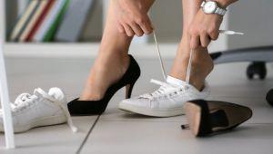 Yüksek topuklu ayakkabılara dikkat!