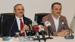 AK Parti İl'de devir teslim töreni gerçekleşti