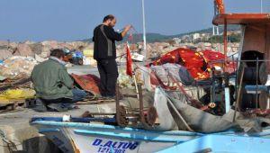 Aliağa'da Balıkçılar 'Vira Bismillah' Dedi