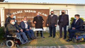 Aliağa'da Engelliler ve Rehabilitasyon Derneği İstiridye Mantarı Yetiştirecek