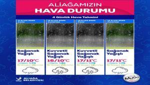 Meteoroloji'den 4 Günlük Sağanak Yağış Uyarısı